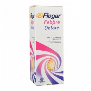 Flogar Febbre e dolore  - syrup for fever and pain 120 Ml
