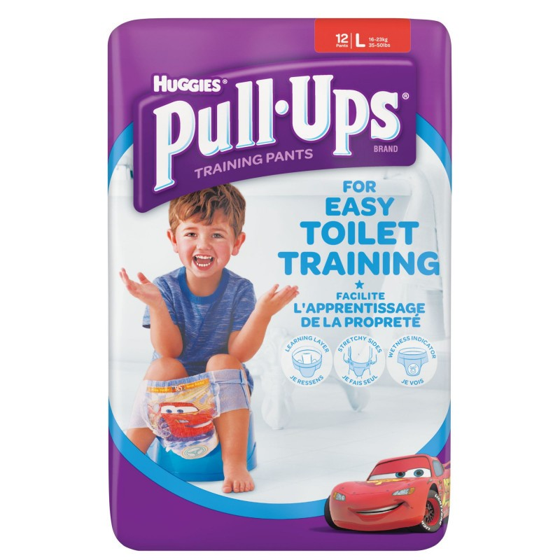 HUGGIES - Potty Training Pants Size 6  large 16-23 Kg 12 Pants