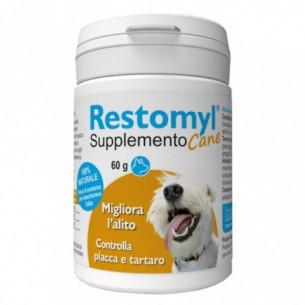 Restomyl - Supplement for dog control plaque and tartar 60 g