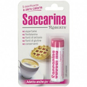 Saccarina - 100 sweetening tablets