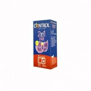 2In1 Control Touch & Feel - 1 condom + 1 gel