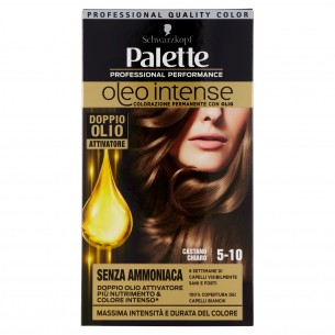 Permanent Hair Colour with Oils 5-10 Light brown