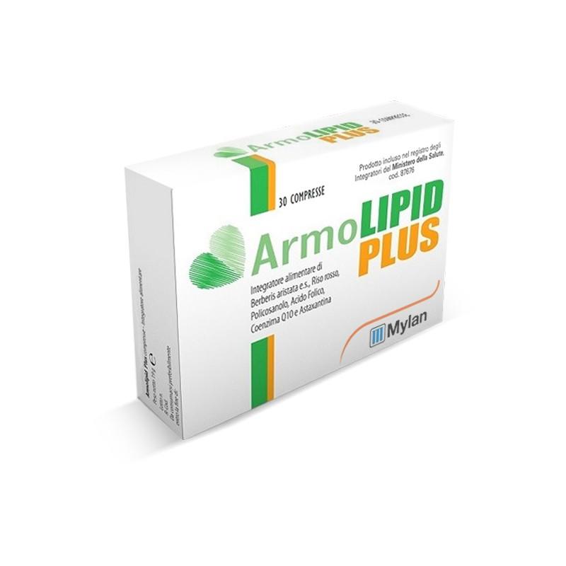 MYLAN - Armolipid Plus - Supplement to reduce cholesterol 30 Tablets European package