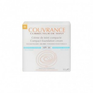 Couvrance - compact foundation honey