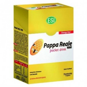 Royal Jelly - Energy supplement 16 Pocket Drink