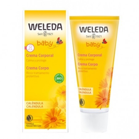 WELEDA - Calendula Baby - body cream for baby skin 75 ml