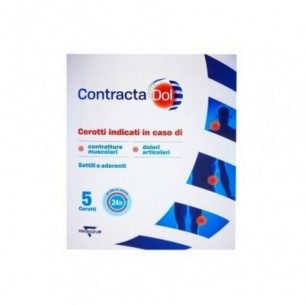Contracta Dol - 5 patches for contractures and joint pain