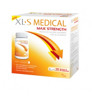 medical max strength - dietary supplement for fat absorption - 120 tablets