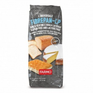 Fibrepan - Low protein Mix for gluten-free bread, pizza and sweets 500 g