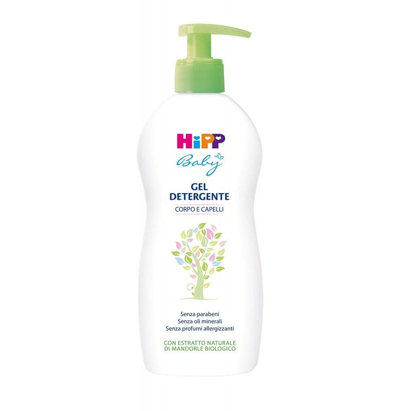 HIPP - Baby Cleansing Gel For Body And Hair 400 ml
