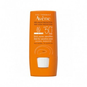 Eau Thermale Stick for sensitive areas SPF50+ very high protection 8 g