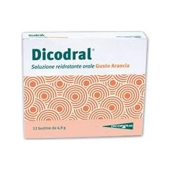 Supplement Dicodral Useful In Case Of Diarrhoea 12 Sachets