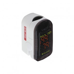 Fingertip pulse oximeter to monitor blood oxygen saturation