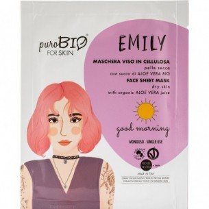 Emily good morning - dry skin cellulose face mask for 15 ml