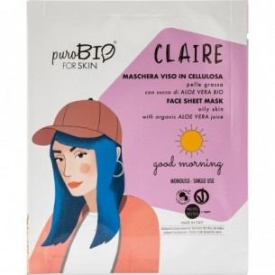 Claire good morning - Oily skin cellulose face mask 15 ml