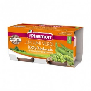 Green beans and vegetables baby food 2x80 g