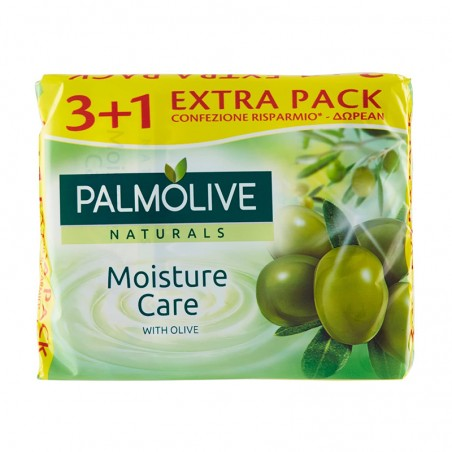 PALMOLIVE - Solid Soap Olive Oil Naturals 100 G 4 Pcs