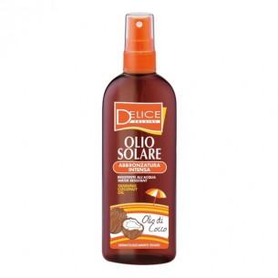 Sun Tanning Oil Intense Coconut And Jojoba Water Resistent UVB/UVA 150ml