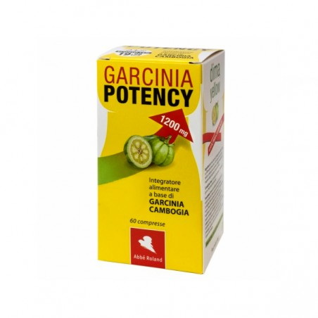 Abbe Roland - Garcinia Potency 1200 mg -   weight loss supplement 60 tablets
