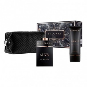 Man in Black Set - Edp 100 ml + After shave Balm 100 ml + clutch bag