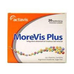 Supplement Morevis Plus For Tone And Energy 20 Sachets