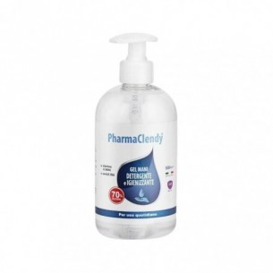 PharmaClendy - Cleansing and sanitizing hand gel 500 Ml