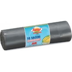 Garbage Bags Condominium Gray 70X100 120 L 10 Pieces
