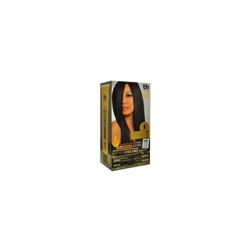 TH PHARMA - hair dye without ammonia black n.1