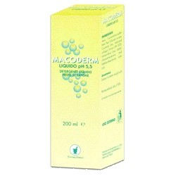 Liquid Cleaning Macoderm Ph 5.5 Without Soap 200 Ml