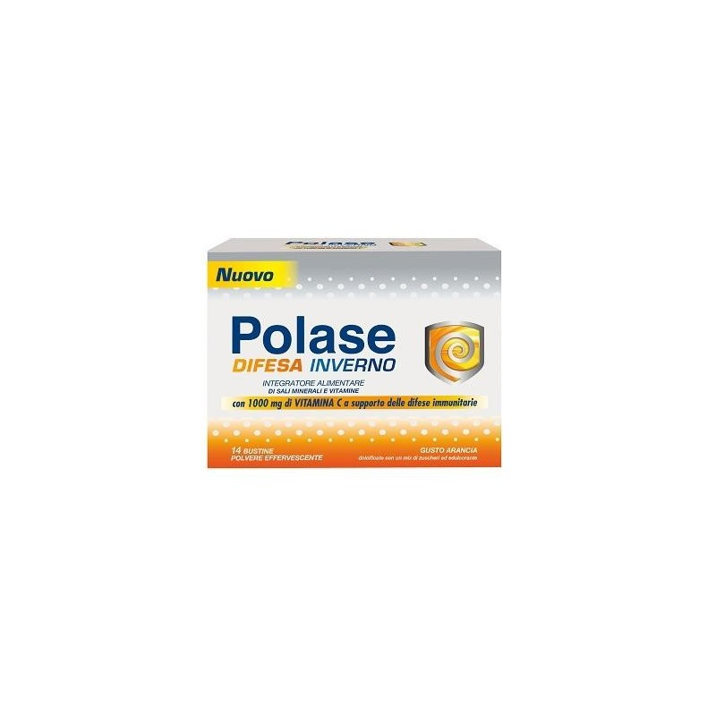 POLASE - Defense Winter - minerals and vitamins dietary supplement - 14 bags