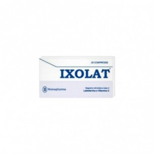 Supplement With Iron Antioxidant Ixolat Os 20 Tablets