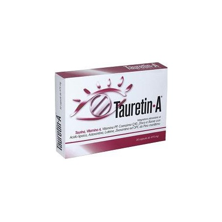 PHARCOS - Supplement Tauretin-A For The Visual Function 30 Capsule