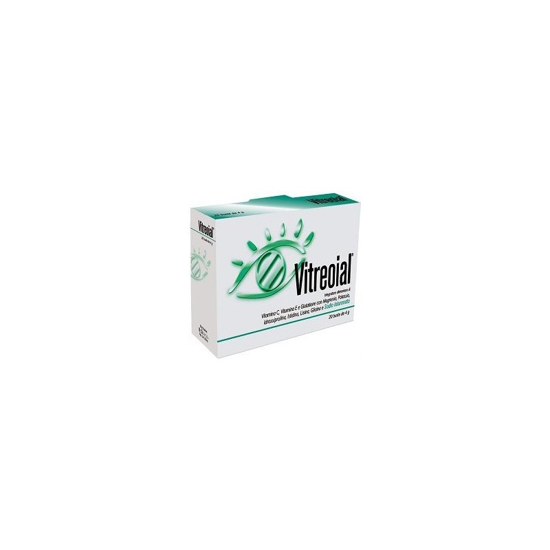 PHARCOS - Supplement Vitreoial For The Visual Function 20 Sachets
