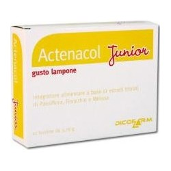 Supplement Actenacol Junior For The Digestive System 12 Sachets