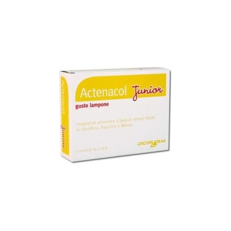 DICOFARM - Supplement Actenacol Junior For The Digestive System 12 Sachets
