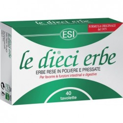 Supplement Le Dieci Erbe - 10 Herbs 40 Tablets