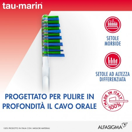 TAU-MARIN - Toothbrush Manual Medium Special Antitartar For Sensitive Gums