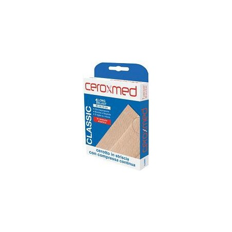 Ceroxmed - Patch In Elastic Fabric Long 50 X 8 cm