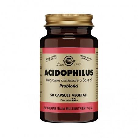 SOLGAR - Supplement Acidophilus Milk Enzymes 50 Capsule
