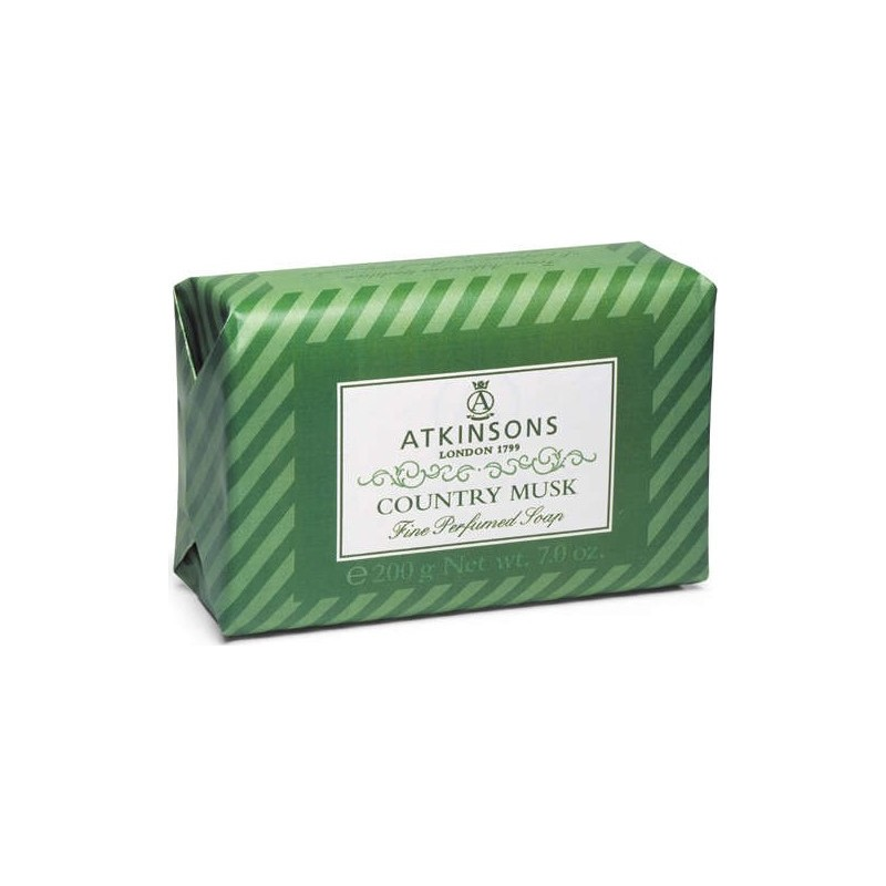 ATKINSONS - Fine Perfumed Soaps Sapone Country Musk 200 gr