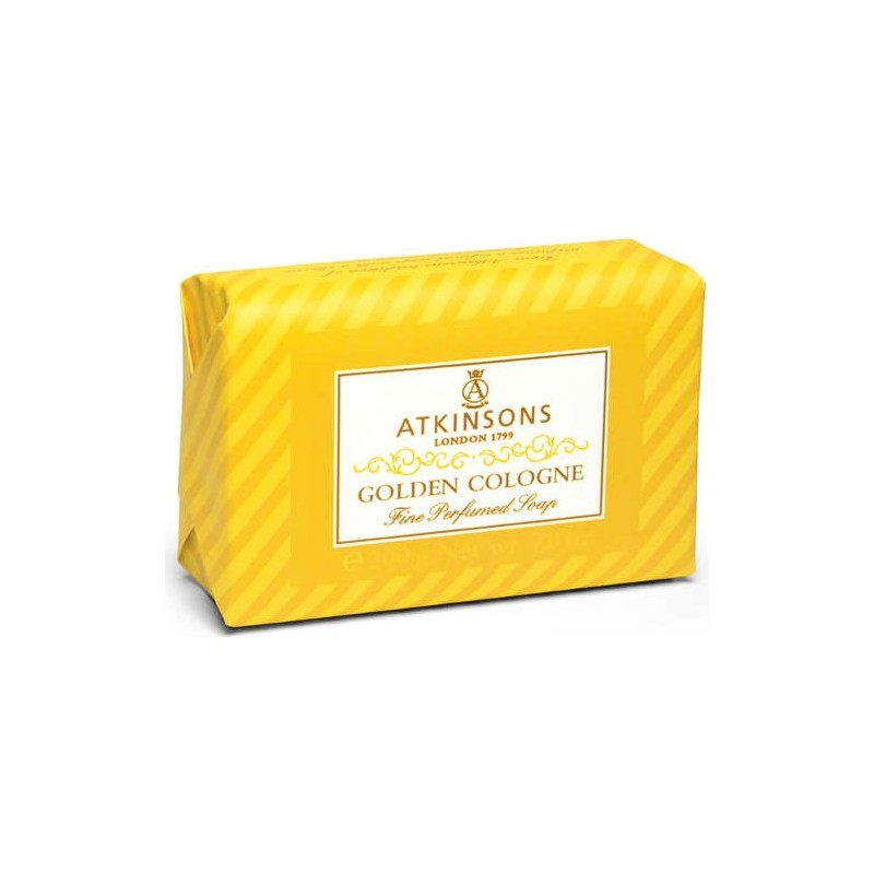 ATKINSONS - Fine Perfumed Soaps Sapone Golden Cologne 200 gr