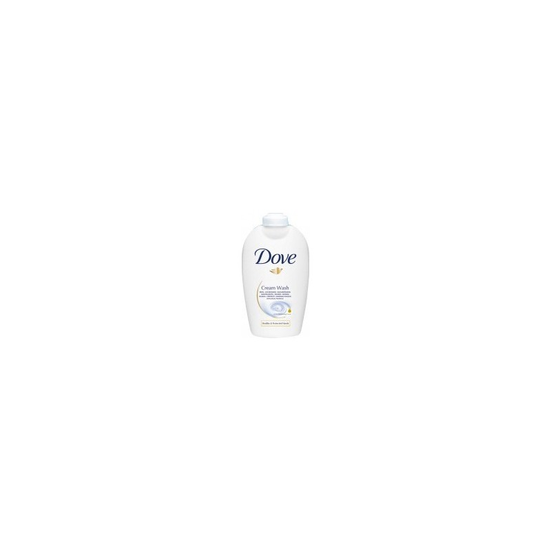DOVE - Liquid Detergent Soap Creamy Moisturizing Hands And Face Charge250 Ml