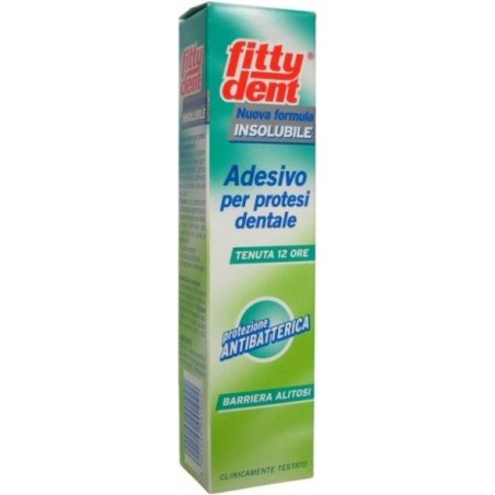 FITTYDENT - Secure Denture Adhesive Super Hold Denture Adhesive 40Gr