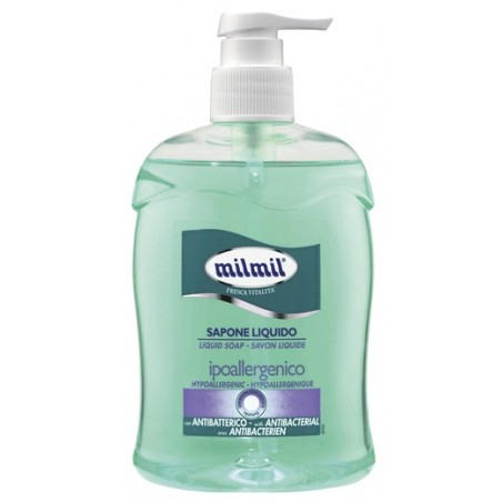 MIL MIL - Liquid Soap Hypoallergenic Antibacterial 500 Ml