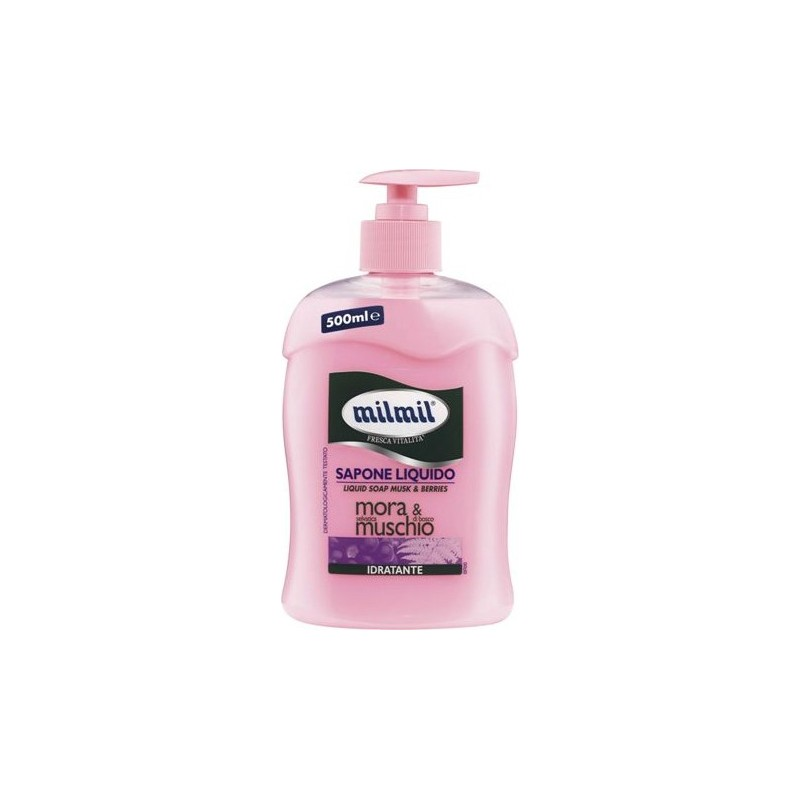 MIL MIL - Liquid Soap Moisturizing Blackberry & Musk 500 Ml