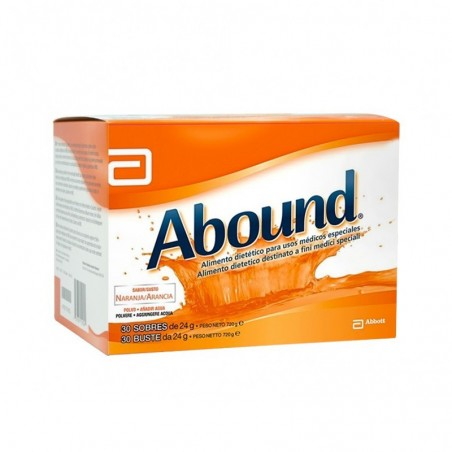 ABOUND - Supplement Dietetic Orange Flavour 30 Sachets 24 Gr