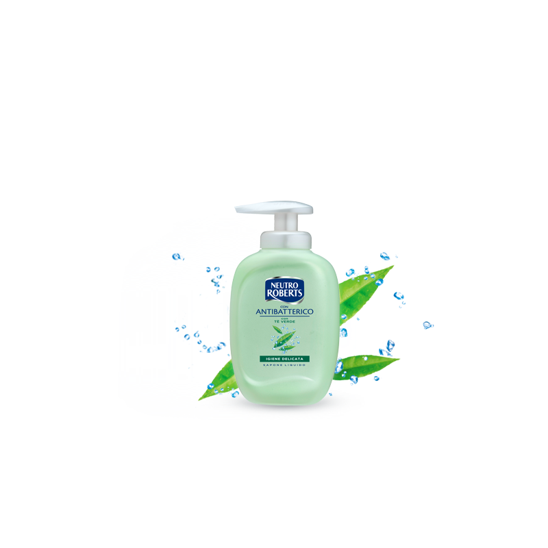 Neutro Roberts - Liquid Antibacterial Soap To Green Tea 300 Ml