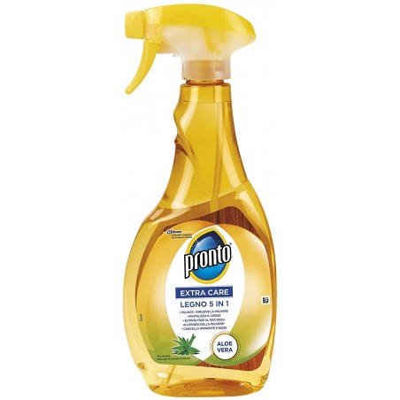 PRONTO - Spray Cleaner For Wood With Aloe Vera5 In 1 Trigger 500 Ml