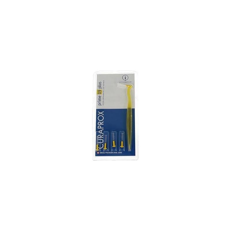 CURAPROX - Prime Plus interdental brush - Yellow pack of 5 brushes