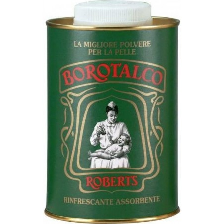 ROBERTS - Borotalco Body Powder Family Sizetalcum, 1000 G/1Kg 35 Oz.